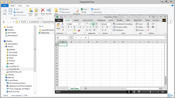 How to create an Excel file in  NET using OpenXML – Part 1: Basics