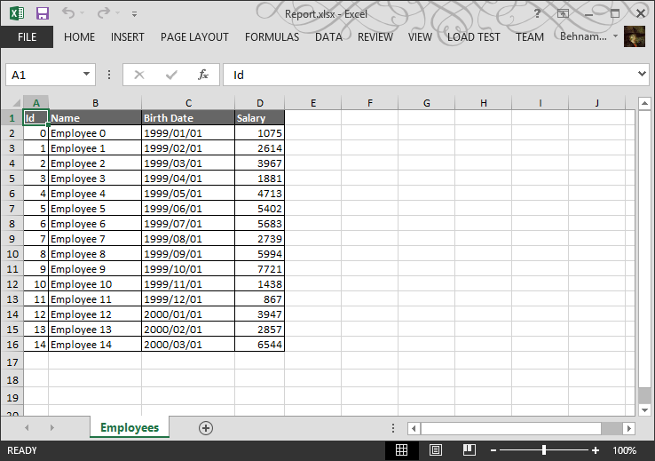 How to create an Excel file in  NET using OpenXML – Part 3: Add